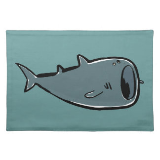 whale shark cloth placemat