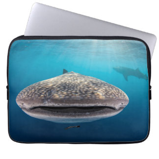 Whale Shark, Front view, Indonesia Laptop Sleeve