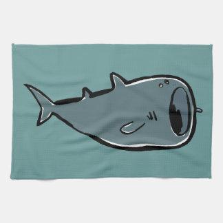 whale shark kitchen towels