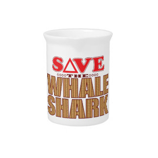 Whale Shark Save Drink Pitcher