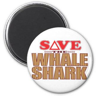 Whale Shark Save Magnet