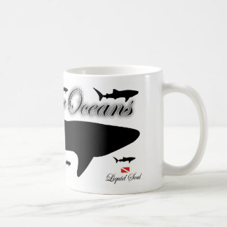 Whale Shark - Save Our Oceans Coffee Mugs