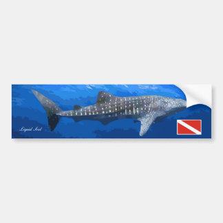 Whale Shark Sticker Car Bumper Sticker