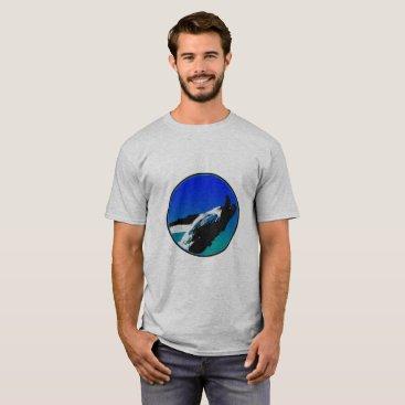 Beach Themed Whale Shirt