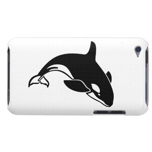 Whale Silhouette iPod Touch Cases