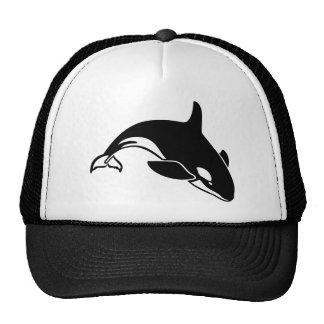 Whale Silhouette Trucker Hat
