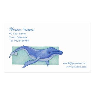 Whale solo Business Card
