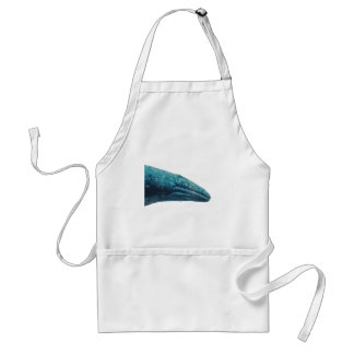 Whale Song Adult Apron