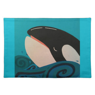 Whale Song Cloth Placemat