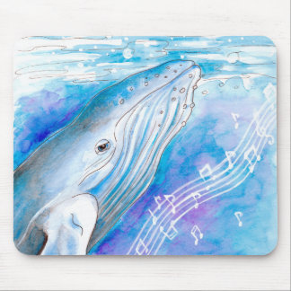 Whale Song Mousepad