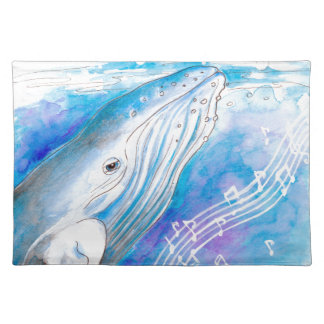 Whale Song Placemat
