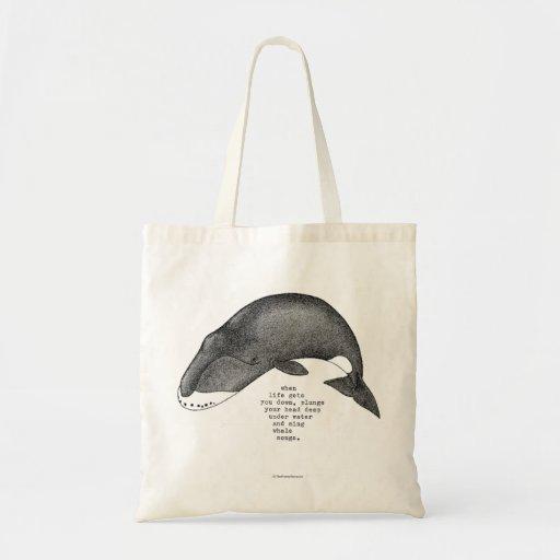 whale songs bag