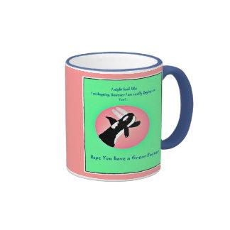 Whale Spyhopping Easter Mug