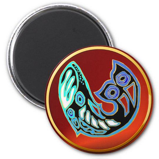 Whale Symbol Magnet