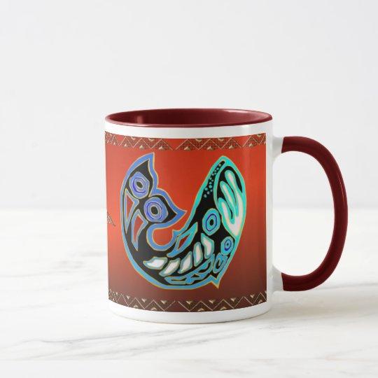 Whale Symbol Mug