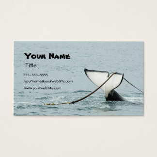 Whale Tail Business Card