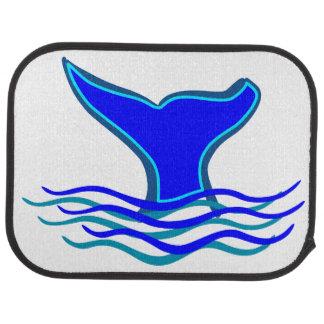 Whale Tail Car Mat