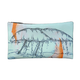 Whale Tail Cosmetic Bags
