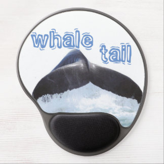 whale tail gel mouse pad