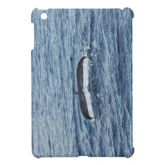 Whale tail iPad mini case