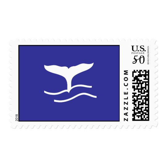 Whale tail  Maritime Ocean Sea Postage