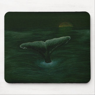 Whale Tail Mouse Pad