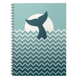 Whale Tail Notebook