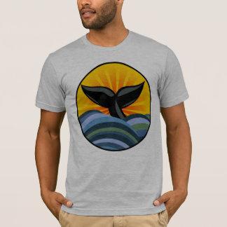 Whale Tail Ocean Waves T-Shirt