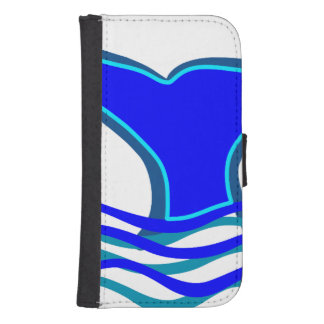 Whale Tail Galaxy S4 Wallet Cases