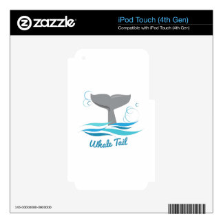 Whale Tail iPod Touch 4G Skin