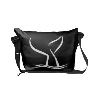 Whale Tail Small Messenger Bag