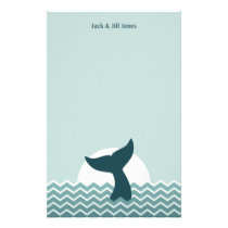 Whale Tail Stationery