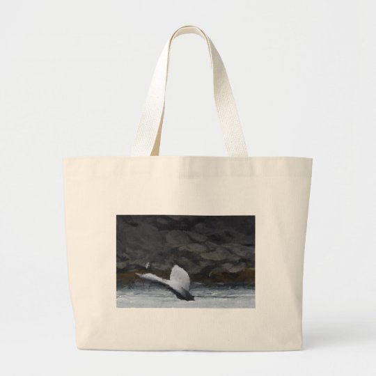 Whale Tale Large Tote Bag