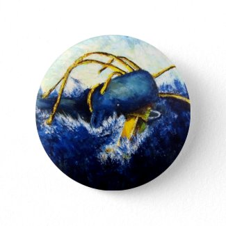 Whale vs Colossal Squid Original Fine Art Painting button