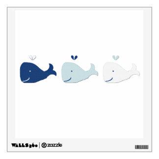 Whale Wall Sticker