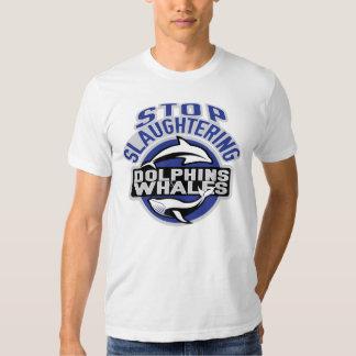 Whale WarShirt LogoA T Shirt