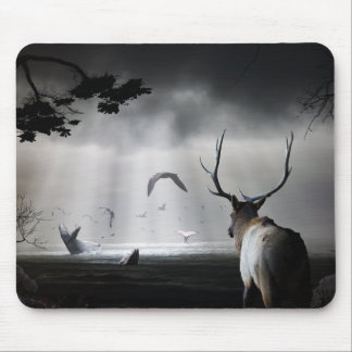 Whale Watch Mouse Pad