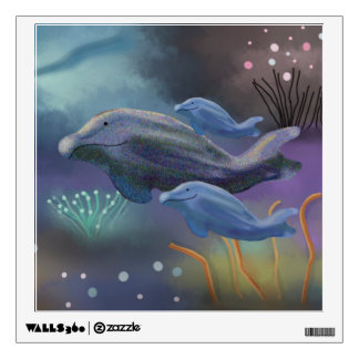 Whale Watch Wall Decal