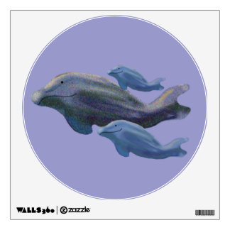 Whale Watch Wall Decals