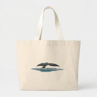 Whale Watcher Canvas Bag