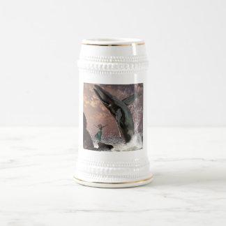 Whale Watcher Fantasy Beer Stein