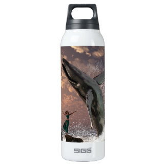 Whale Watcher Fantasy Insulated Water Bottle