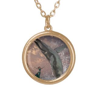 Whale Watcher Fantasy Custom Necklace