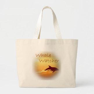 Whale Watcher orange Bag