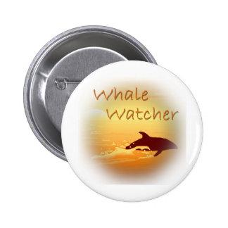 Whale Watcher  orange Pins