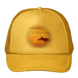 Whale Watcher orange Hats