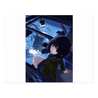 Whale Watcher Postcard