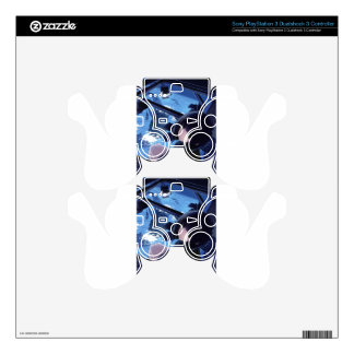 Whale Watcher PS3 Controller Skin