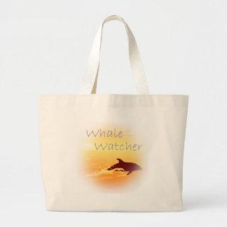 Whale Watcher purple Bag