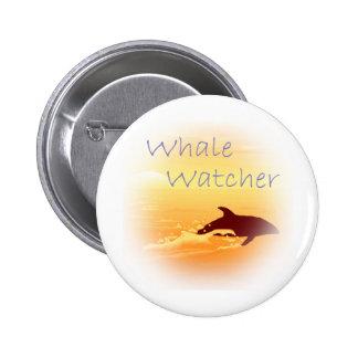 Whale Watcher purple Pin